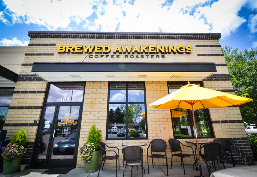 Brewed Awakenings Coffee Roasters on 63rd Street in Vancouver, Washington