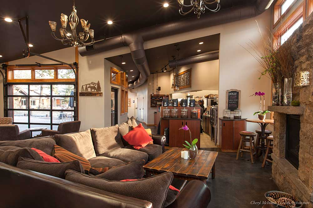 big comfy couches Brewed Awakenings coffee shop