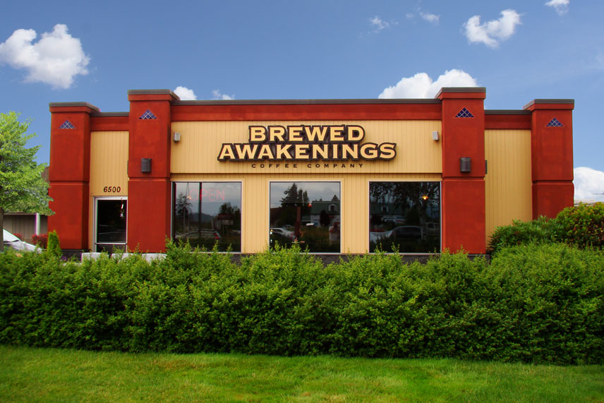 brewed awakenings near orchards vancouver, washington